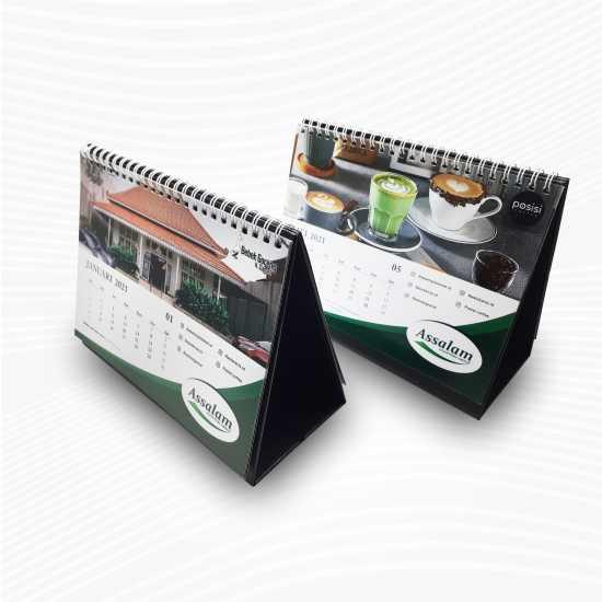 Kalender Meja AC210 Laser Tanpa Minimal Order