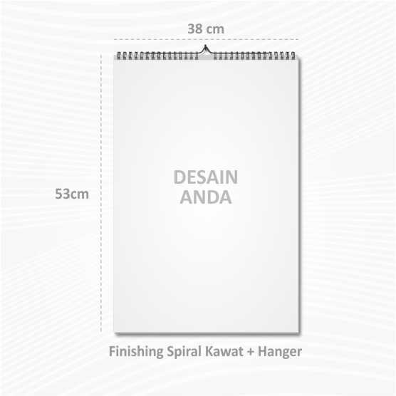 Kalender Dinding 38x53cm Ap120 Offset