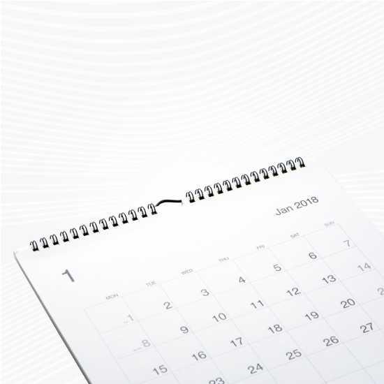 Kalender Dinding 31x48cm Ap120 Laser Tanpa Minimum Order