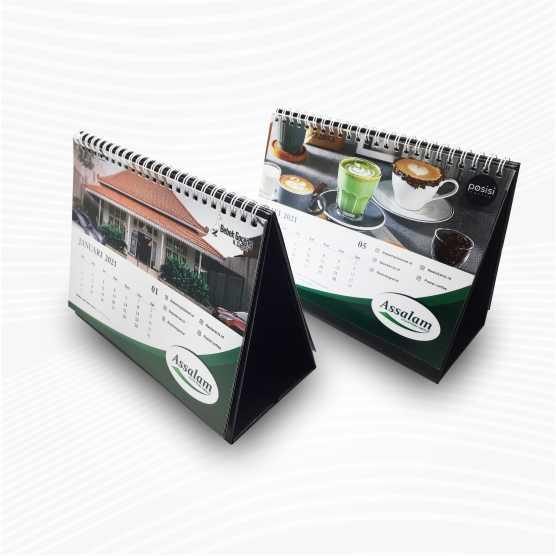 Kalender Meja Tanpa Minimal Order