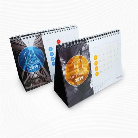 Kalender Meja Offset